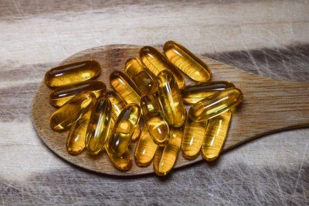 Cápsulas de omega-3