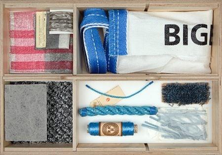 Varios textiles y cuerdas de polipropileno
