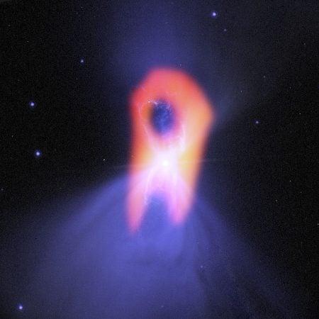 Nebulosa del Boomerang. Telescopio ALMA