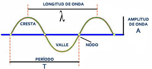 Longitud y otras propiedades de onda