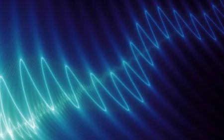 Ilustración de una onda eléctrica