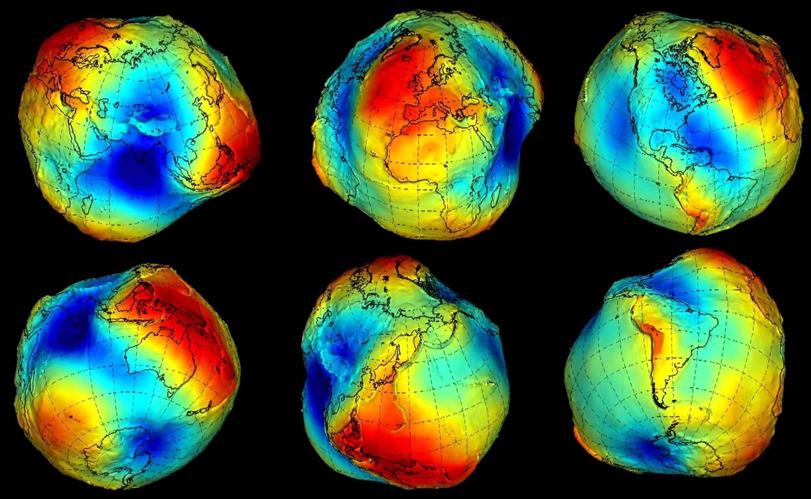 Cuál es la forma real de la Tierra? - Curiosoando