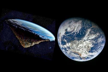 La Tierra no es plana ni redonda