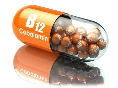 Cápsulas de vitamina B12