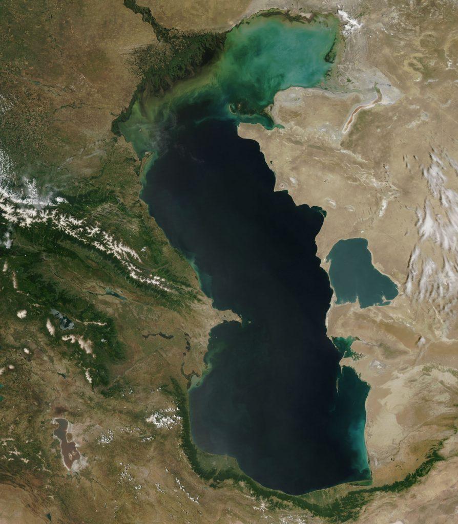 Eutrofización el Mar Caspio