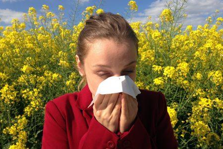 Rinitis alérgica - flores