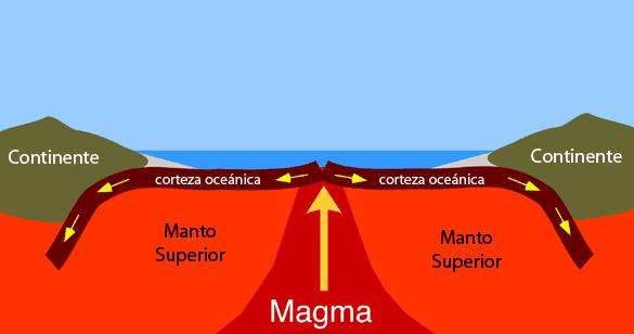 Formación de la corteza oceánica